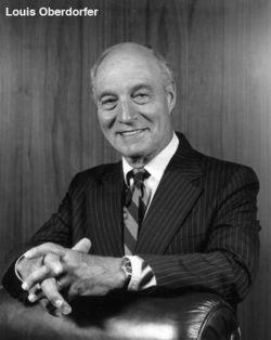 Judge Louis Oberdorfer