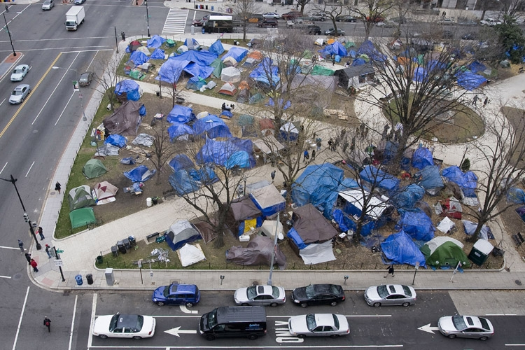 Occupy DC tents 2