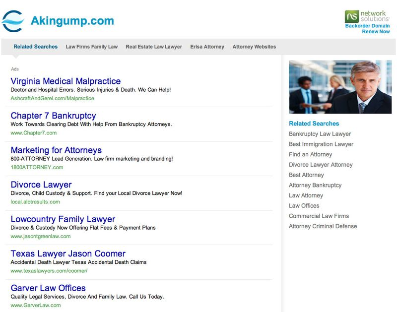 Akin Gump Website